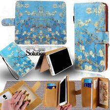 Para varios modelos Samsung Galaxy Nuevo Cuero De pie Abatible Billetera Cubierta Estuche Teléfono