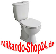 Design Wc Toilette Stand komplett set Spülkasten KERAMIK Inkl.Sitz Senkrecht!
