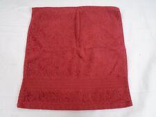 Company Store Cotton (1) Washcloth Deep Red 196B VH58