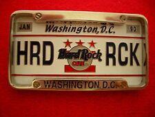 HRC Hard Rock Cafe Washington License Plate Series 2002 LE
