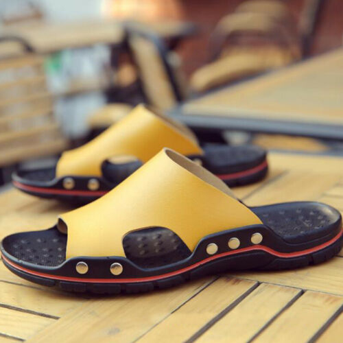 Mens Summer Sandals Casual Sports Slides Flip Flops Mules Slippers Shoes Size