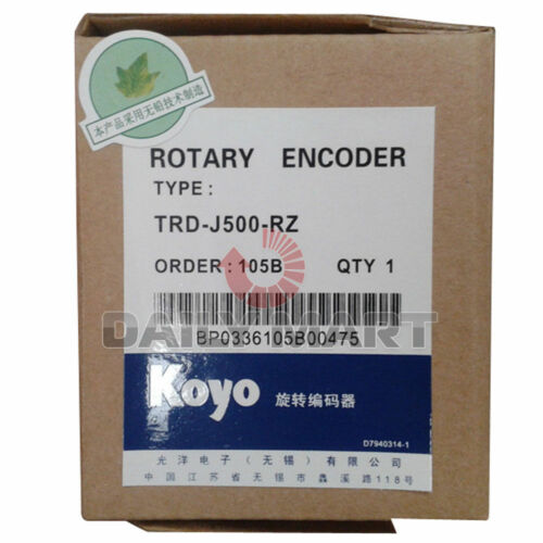 KOYO TRD-J500-RZ INCREMENTAL SHAFT ROTARY ENCODER FOR INDUSTRY USE NEW