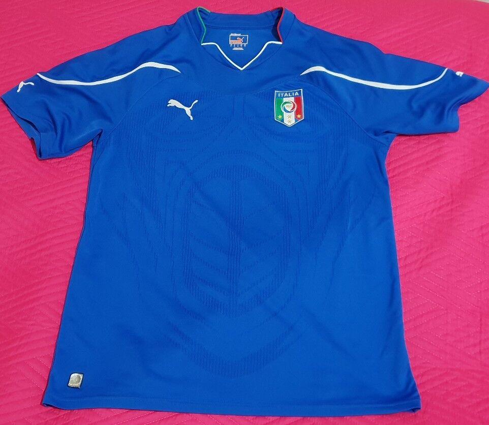Calcio Italia  Mondiale 2010 Originale Autentica PUMA PUMA PUMA maglia shirt jersey L | Primo nella sua classe  4a9dcf