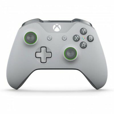 Microsoft Xbox One S Wireless Game Controller - Grey/Green