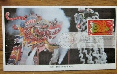 CHINESE LUNAR NEW YEAR OF THE HARE RABBIT 1999 MYSTIC ...