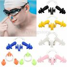 Waterproof Soft Silicone Swimming Set Nose Clip + Ear Plug Earplug Fine Tool VNC