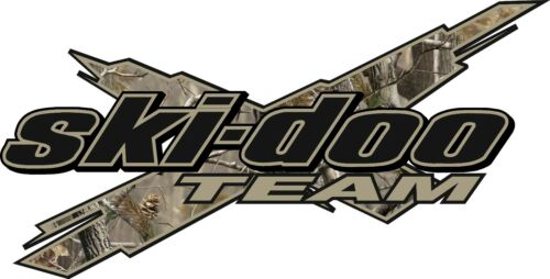 "CAMO SKI-DOO Team 3DX 12/"" Vinyl Vehicle Decal Snowmobile Sticker"