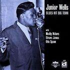 Blues Hit Big Town by Junior Wells (CD, Jun-1998, Delmark (Label))