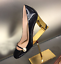 Retro Women/'s Pump Patent Leather Stiletto Ankle Strapy High Heel Ankle Shoes 01