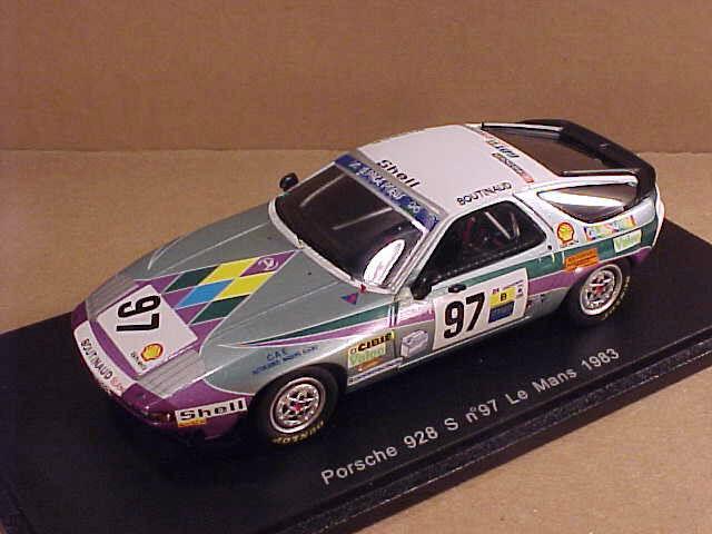 SPARK 1 43 résine PORSCHE 928 S, 1983 LeMans, Boutinaud Team-Gotti,  97  S3407