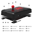 Mayflash-F500-Arcade-Fight-Stick-for-PS4-PS3-XBOX-ONE-PC-Android-Switch-NEOGEO miniature 6