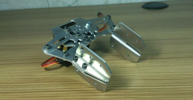 1pcs Mechanical arm manipulator metal mechanical claw (Excluding tuo machine )