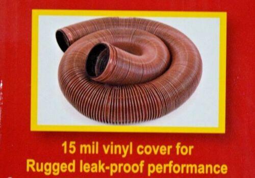 2 Valterra EZ Flush 10/' 15 mil Vinyl RV Trailer Sewer Drain Hose  D04-0012