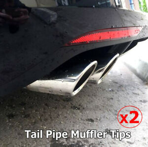 2X-EXHAUST-TAILPIPE-TAIL-PIPE-TIP-MUFFLER-FOR-VW-GOLF-POLO-JETTA-TIGUAN-TRIM-6R