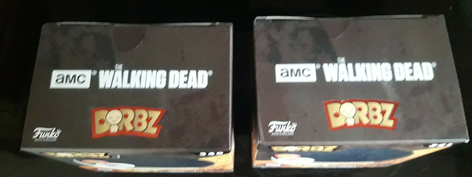 FUNKO POP DORBZ THE WALKING GRIMES DEAD CARL GRIMES WALKING & NEGAN CHASE VARIANT VARIATION LOT 954874