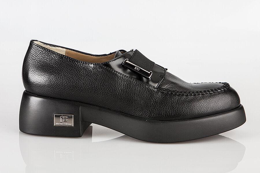 Authentic Marino Fabiani Italian Designer shoes Size 6 Black
