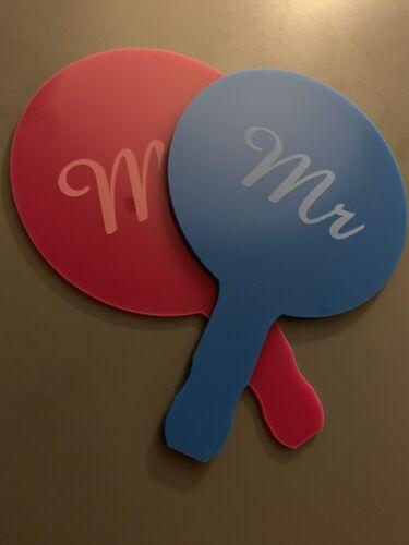 et Mme jeu Hen Do Deluxe pagaies pas seulement de tennis de table Chauves-souris découpe laser M