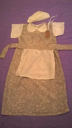 STORIA-Time Età 9-11 YS Vittoriano-WW2-1930s-1940s VILLAGGIO-Costume-Ragazze-SCUOLE