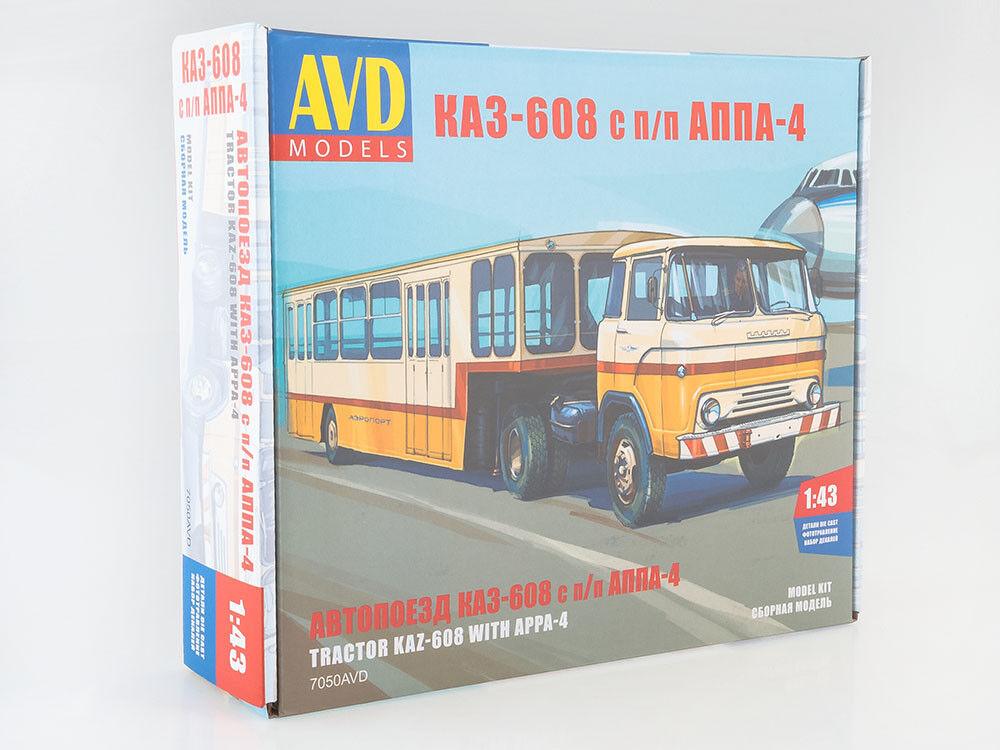 ¡envío gratis! KAZ 608 con Appa - 4 Kit desarmado desarmado desarmado este cuadro modelos por SSM 1 43  la red entera más baja