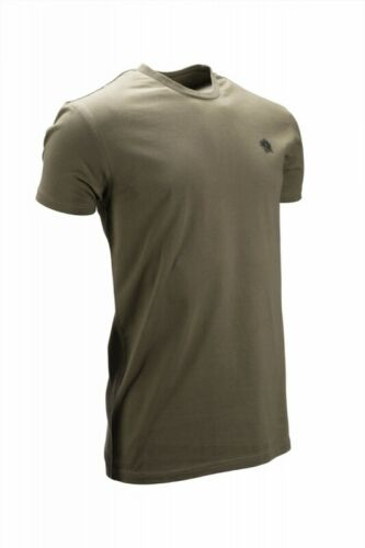 Nash Tackle T-Shirt Olive Green *All Sizes* Fishing Clothing Tee