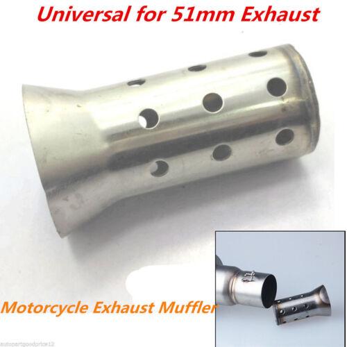Motorcycle Exhaust Muffler Can Insert Baffle DB Killer Silencer for 51mm Exhaust