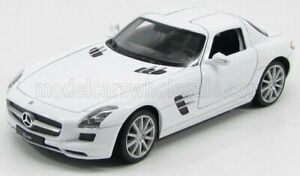 WELLY 1/24 MERCEDES BENZ | SLS COUPE 6.3 AMG (C197) 2010 | WHITE