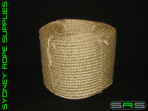 10MM X 100MTR SISAL ROPE EXCELLENT QUALITY AND VALUE