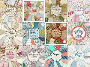 First-Edition-scrapbooking-paper-6x6-8x8-full-pack-or-single-sheets