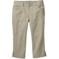 George Juniors Capri Pants School Uniform/ Every Day Khaki 7/8 & 11