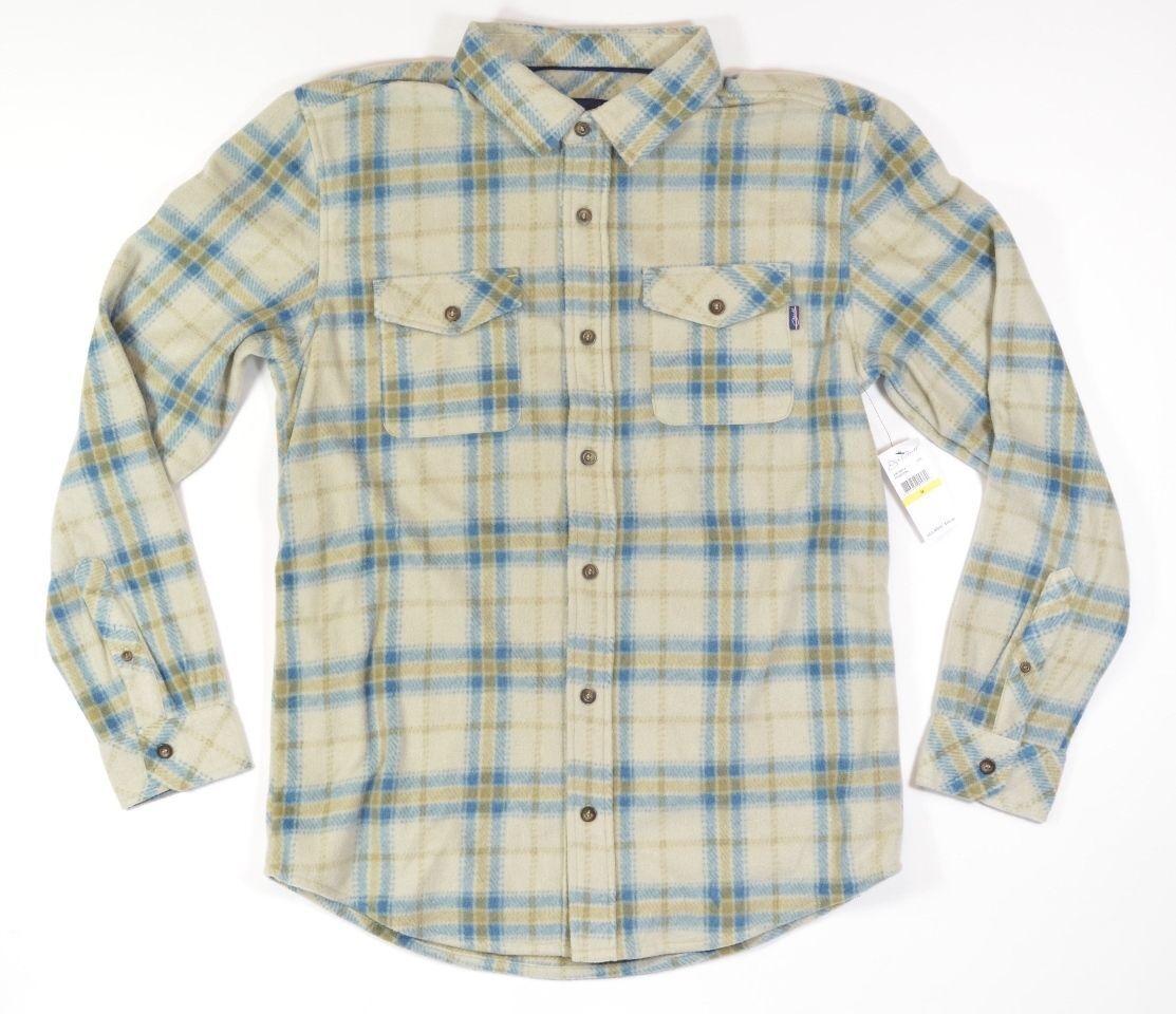 O'Neill Men Medium Flanel POSEIDON Long Sleeve Button Down Woven Shirt
