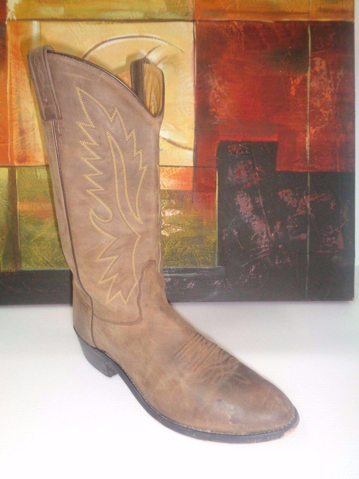 Oeste botas de vaquero para hombre rojoonda Old Goodyear Neolite Apache OW2051 D