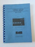 Cardell 9500 Hd Veterinary Monitor Manual / User Guide