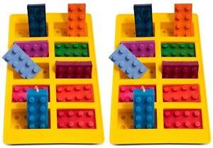 2 X Silicone Moule Bac à glaçons Pralinenform briques Mors  </span>