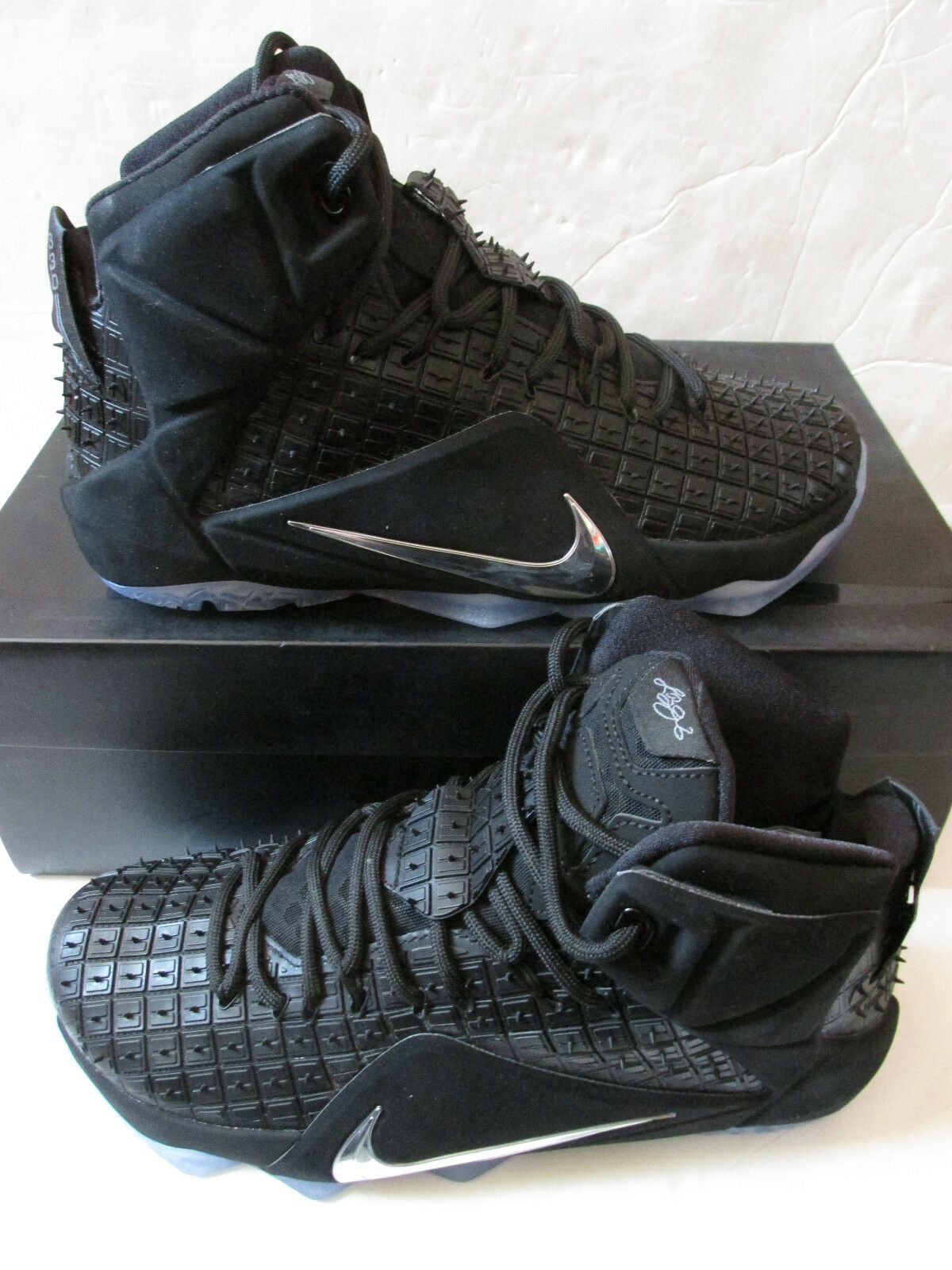 nike lebron XII EXT hi RC QS homme  hi EXT top trainers 744286 001 Baskets  chaussures 126288