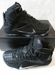 886321f0e4a4 nike lebron XII EXT RC QS mens hi top trainers 744286 001 sneakers ...
