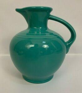 Fiesta-Turquoise-Open-Carafe-Water-Jug-Pitcher-Fiestaware-HLC-USA