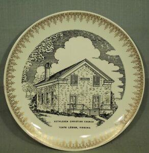 Bethlehem-Christian-Church-Tenth-Legion-Rockingham-county-Virginia-vtg-old-plate