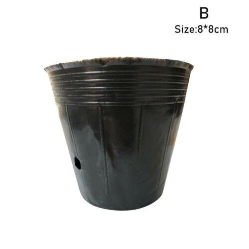 Details about  /10 Pack Outdoor Vegetable Flower Plastic Pot Garden 3 Gallon Nursery Pots
