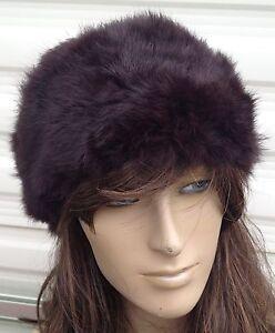 dark-brown-real-genuine-rabbit-fur-pelt-ear-warmer-headband-unisex-hat