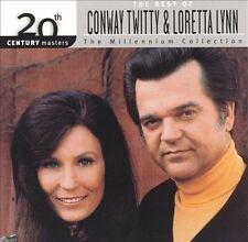 CONWAY TWITTY & LORETTA LYNN - 20TH CENTURY MASTERS - THE MILLENNIUM COLLECTION: