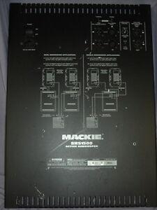 Mackie-SRS1500-Subwoofer-Amp-Amplifier-Module-Flat-Rate-Repair-Service