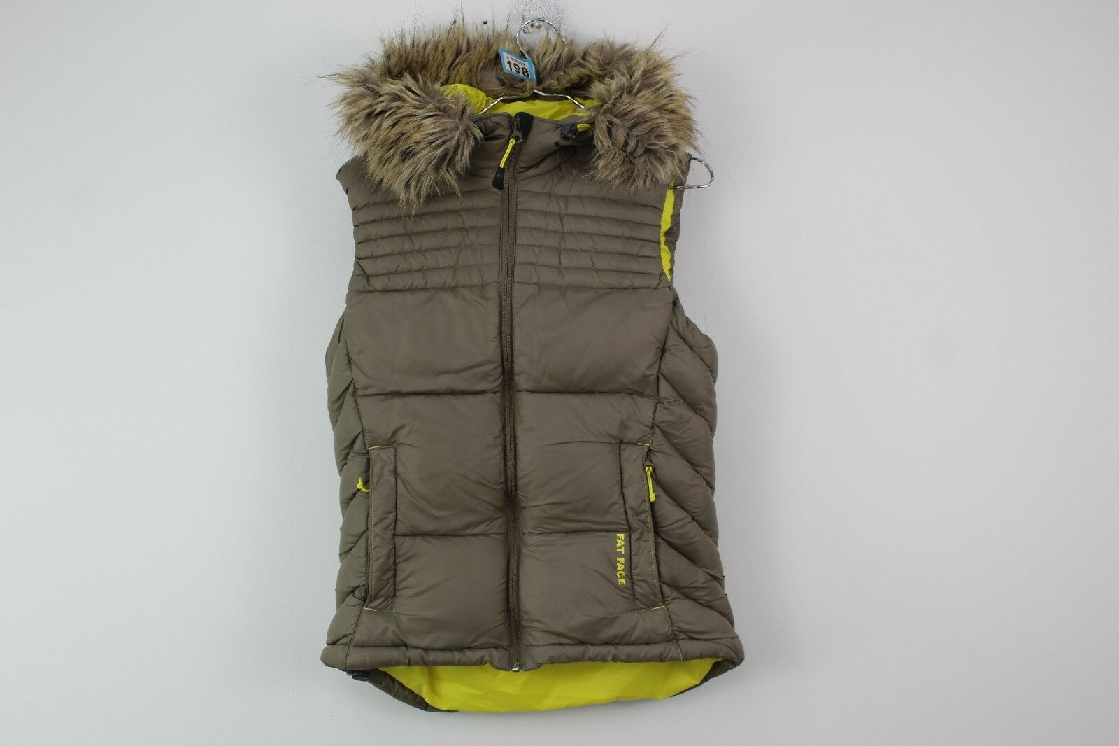 Womens Fat Face Gilet size 8 NO.B198 18 7