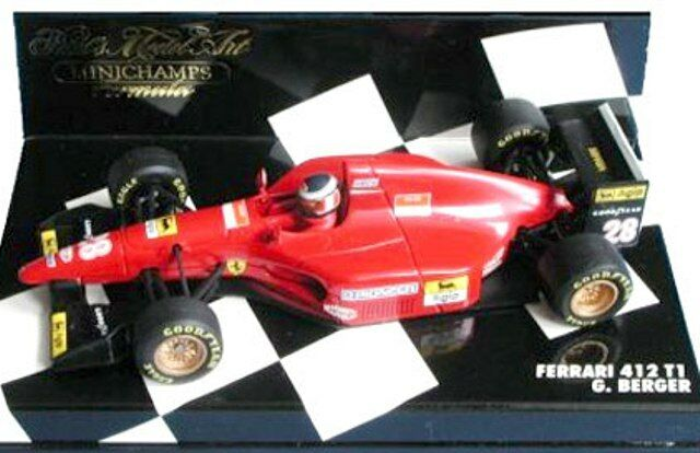 MINICHAMPS 430 750012 430 940028 FERRARI F1 model cars WC N Lauda  G Berger 1 43