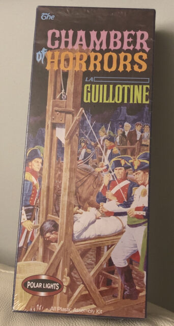 Polar Lights Chamber of Horrors La Guillotine Model Kit (5091) new / sealed box