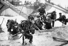 WW2  - Photo - La 3ème division canadienne débarque à Juno Beach le 6 juin 1944