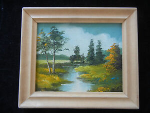 Oil-Painting-with-Wood-Frame-Hand-Painted-Landscape-My-pos-nr-12