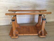 Altes antik Spielzeug Sport Barren Turnen Holzspielzeug