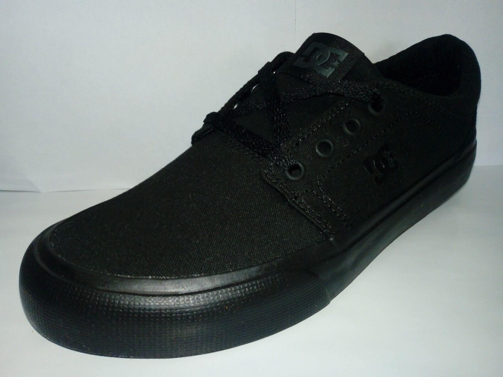 DC Zapatos in Trase in TX Zapatos hombre/mujer in Zapatos Trase Tela Negro Negro b41985