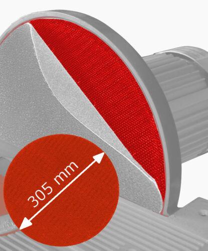 Klettauflage Klettscheibe Klettaufnahme für Tellerschleifmaschine 305mm klebend