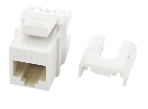 LeGrand On-Q Cat 5e Quick Connect RJ45 Keystone Insert White